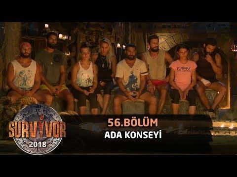Ada konseyi | 56. Bölüm | Survivor 2018