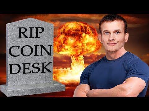 SHOTS FIRED! Vitalik Buterin Declares WAR On Coin Desk