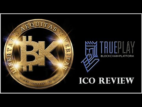 TruePlay ICO ? Blockchain Technology Explained ? Best cryptocurrency to invest 2018