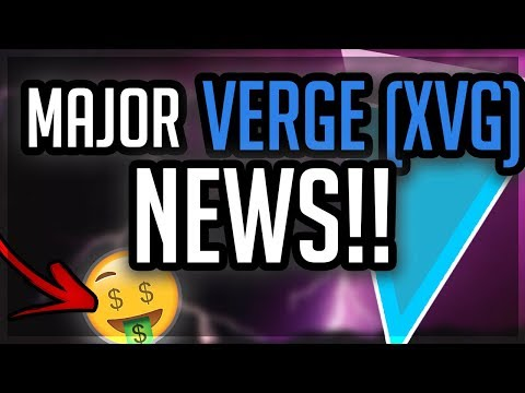 VERGE ($XVG) MAJOR News?! Partnership ANNOUNCEMENT!! Spotify INTEGRATION?! XVG Set to EXPLODE?!