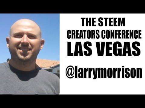 Steemit Las Vegas The Law of Attraction w/ @larrymorrison