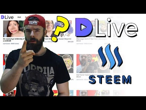 JAK?! – Jak Założyć Konto na steemit, DLive i DTube |  Jak wypłacić