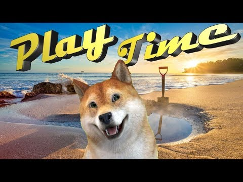 """Roblox doge party""""🐕🐕Bork it out🐕🐕! """""""