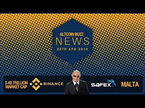 AltCoin News – Binance vs Banks, $40 Trillion Crypto? Bermuda, SAFEX, Pitbull & Blockchain