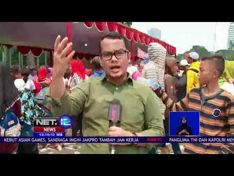 Live Report, Pesta Rakyat Di Monas Ada Makanan Gratis  -NET12
