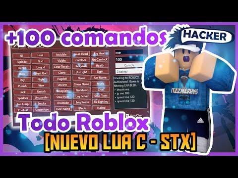 ✔️[NEW LUA C] +999 Comandos Para Todo Roblox ✔️| STX | Parecido Al QTX