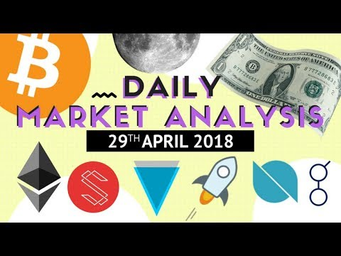 Top Altcoin Analysis – BTC, ETH, ICX, XLM, ONT, XVG and GNT