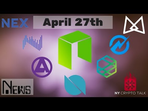 NEO News April 27th 2018 – Thor | Ontology | AlphaCat | NEX | Zeepin | Moonlight | Aphelion