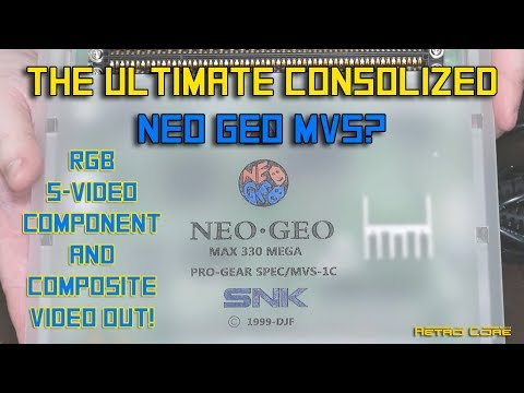 The Ultimate Consolized Neo Geo MVS? 4K Video