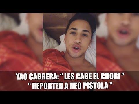 "YAO MANDA A INVADIR Y REPORTAR A NEO: "" LES CABE EL CHORI CAGONES """