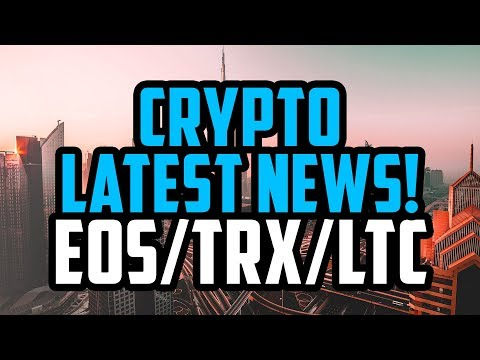 CRYPTO NEWS – EOS, TRON TRX, CARDANO MAKING MOVES! BINANCE MAKES DEAL WITH BERMUDA AND MORE