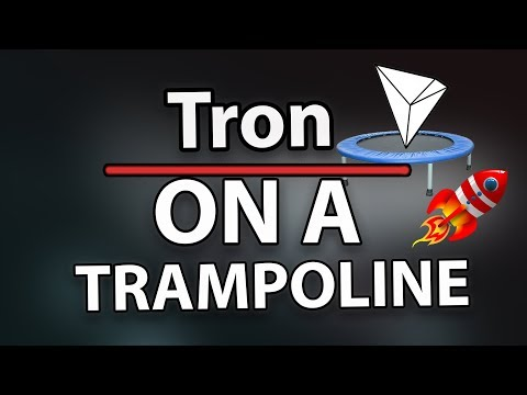 Tron (TRX) on a trampoline once again – settles at 10th position