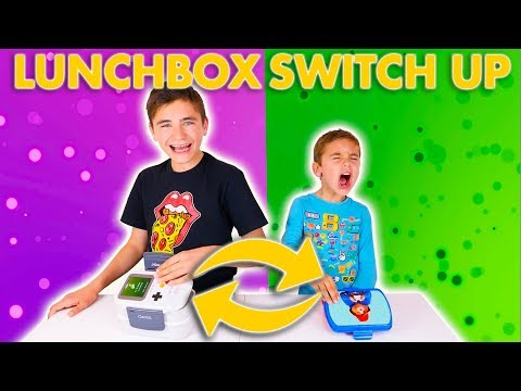 LUNCHBOX SWITCH UP CHALLENGE !!! – Swan VS Néo