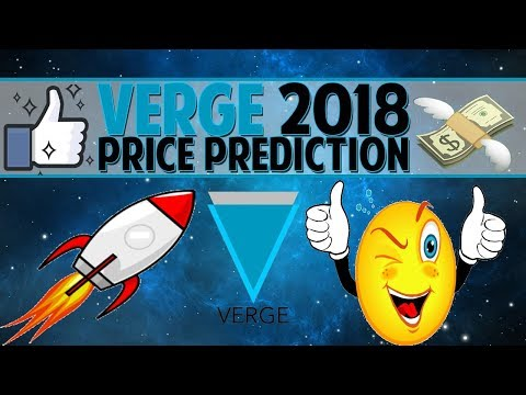 Top 5 Verge Price Predictions For 2018 – Verge Price Future?