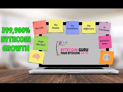 GuruTalk- Bytecoin 399900% GAIN [BCN], Supply, FUD, The Reality (Pt1)