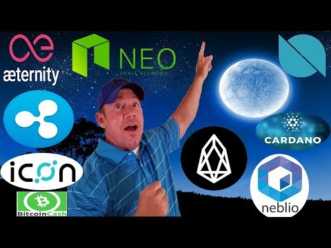 Top 5 Coin Picks! – EOS to 10x! – Tron ROAD MAP 2018! – ONT +103% this week – ADA ICX NEBL XRP NEO