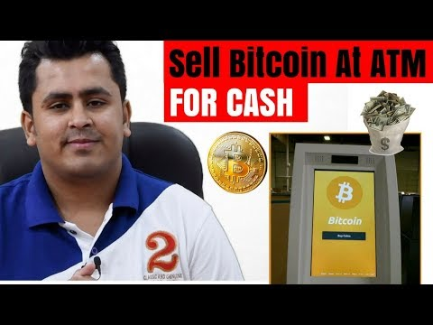 BITCOIN WITHDRAWAL FROM ATM ! Selling Bitcoin For Cash 🔥