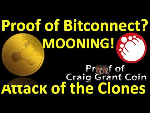 Proof of Bitconnect MOONING! (Attack of the Clones!!)