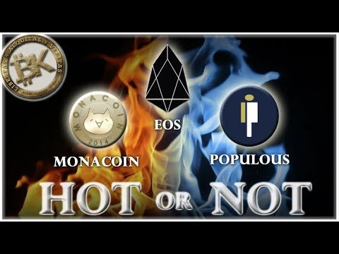 EOS Populous Mona ? Crypto Trading Analysis ?Best Cryptocurrency to Invest Economic Collapse 2018