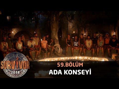 Ada konseyi | 59. Bölüm | Survivor 2018