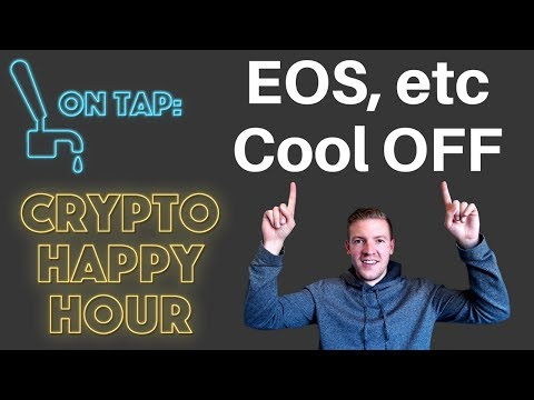 EOS, ONT & others cool off – Crypto Happy Hour