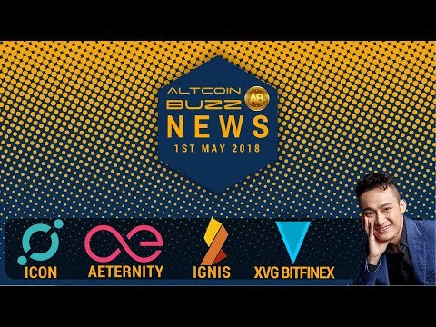 Altcoin News: Icon, Smart Contracts, Paypal & Blockchain, XVG, Tron, AE, IGNIS