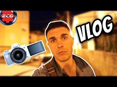 Vlog nocturno /Canon EOS M50 + objetivo 10/18 STM