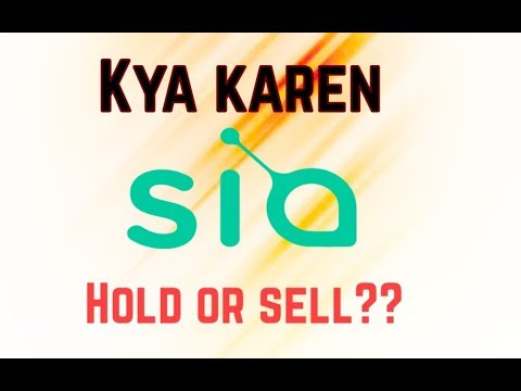 SIA COIN (SC) PRICE ANALYSES || HOLD OR SELL ?? MUST WATCH ||
