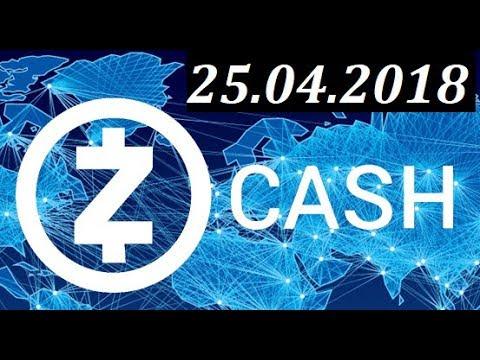 Обзор ZEC/USD – 25.04.2018