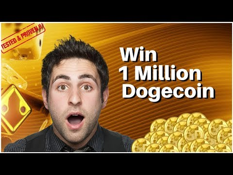WIN 1 MILLION DOGECOIN! Step by step guide for a epic cryptocurrency profit! (2018)