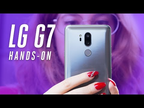 LG G7 ThinQ Hands-on: the disappearing notch