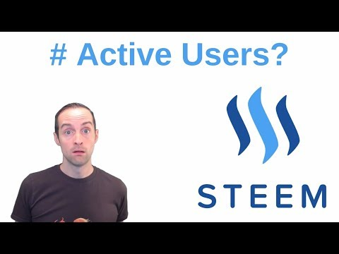 How Many Users are Active on Steem and Steemit.com Every Day?