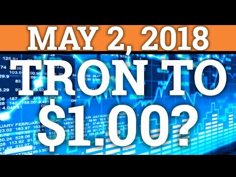 TRON TO $1? TRX COIN + BITCOIN BTC PRICE PREDICTION 2018, BEST CRYPTOCURRENCY TO BUY? NEWS + REVIEW