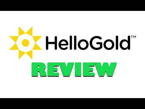HelloGold Review – [Cryptocurrency Backed By Gold]