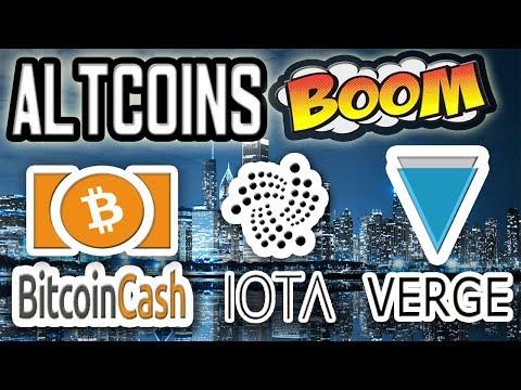 ALTCOIN SEASON IS NEAR! IOTA, Bitcoin Cash, EOS & MORE!