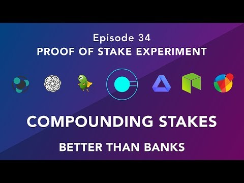 Proof of stake experiment episode 34 – Compounding those stakes for more! Are we on a bullrun yet?