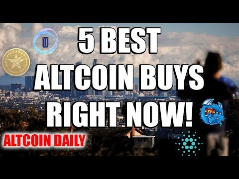 5 Best Altcoin Buying Opportunities RIGHT NOW!   [Cryptocurrency/Altcoin Best Investment]