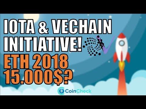 IOTA und VeChain treten Initiative bei! Irrsinnige Ethereum Prognose! Goldman Sachs & Bitcoin