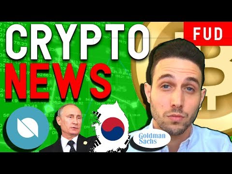 Crypto News: Goldman Sachs Bitcoin Trading, Ontology Partners NAGA, South Korea pushes ICOs