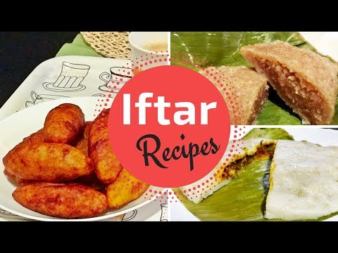 Iftar Recipes / Ramadan Recipes / Unnakkai, Chemeen Pathiri, Gothumbu Ela Ada