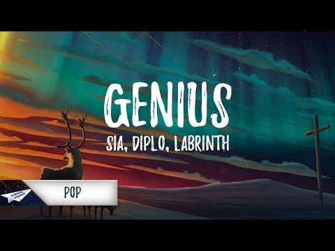 LSD – Genius ft. Sia, Diplo, Labrinth (Lyrics / Lyric Video)