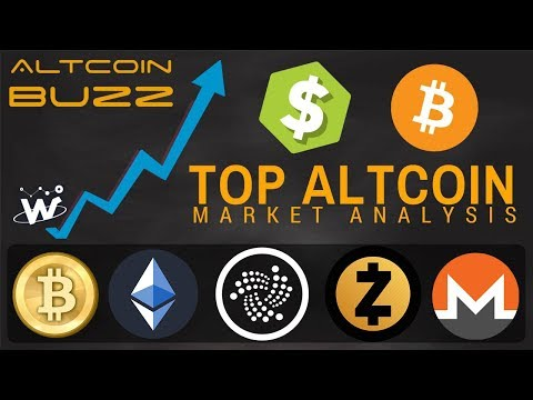 Top Altcoin Analysis – BTC, ETH, ZEC, IOTA, WTC, XMR – Best Cryptos To Buy?