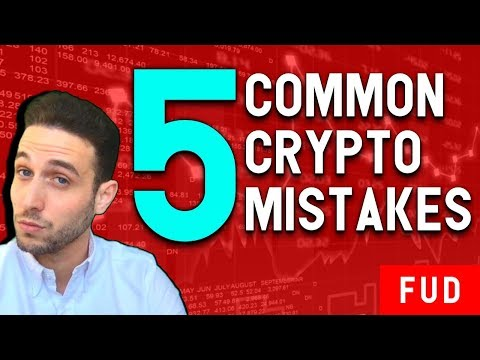 The 5 Most Common Bitcoin and Cryptocurrency Investing Mistakes