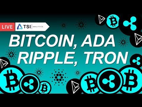 BITCOIN, CARDANO, TRON, RIPPLE, EOS, ETHEREUM | Прогноз цены на Биткоин, Эфир, Трон, Криптовалюты