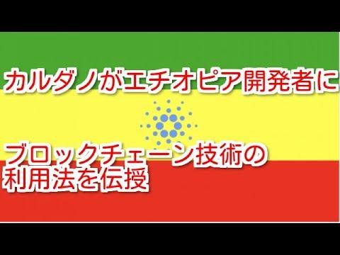 カルダノADA ブロックチェーン農業への合意を目指してエチオピア支援に乗り出すカルダノ