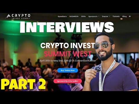 Bo Polny On Bitcoin + Gold / DiscoveryIoT / BFlow / (Crypto Invest Summit 2018)
