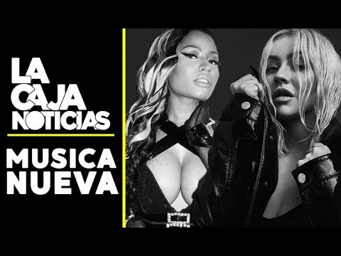 MUSICA NUEVA: Christina Aguilera, Nicki Minaj, Dua Lipa, Shawn Mendes, Sia Y MAS!