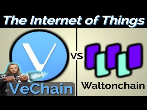 Vechain vs Waltonchain (My Cryptocurrency Pick)