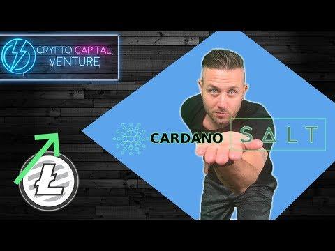 Litecoin and $165 / Also, Bullish On Cardano & SALT