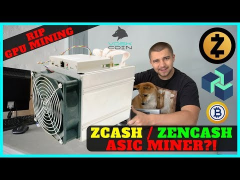 GPU MINING DEAD?! Bitmain Antminer Z9 EQUIHASH ASIC MINER 10000 Sols @ 300 watts